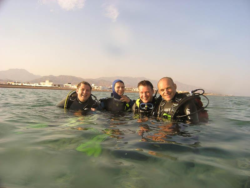 Nurkowanie w Dahab Islands, Ela Benducka
