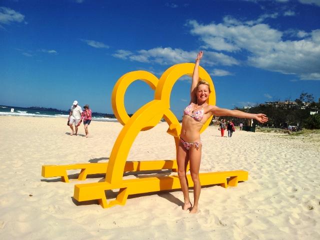 Plażing na Gold Coast