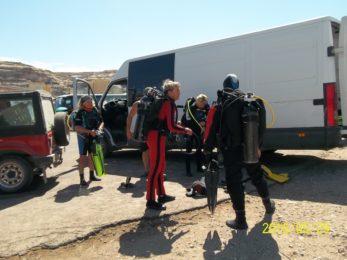 Przed Blue Hole Gozo