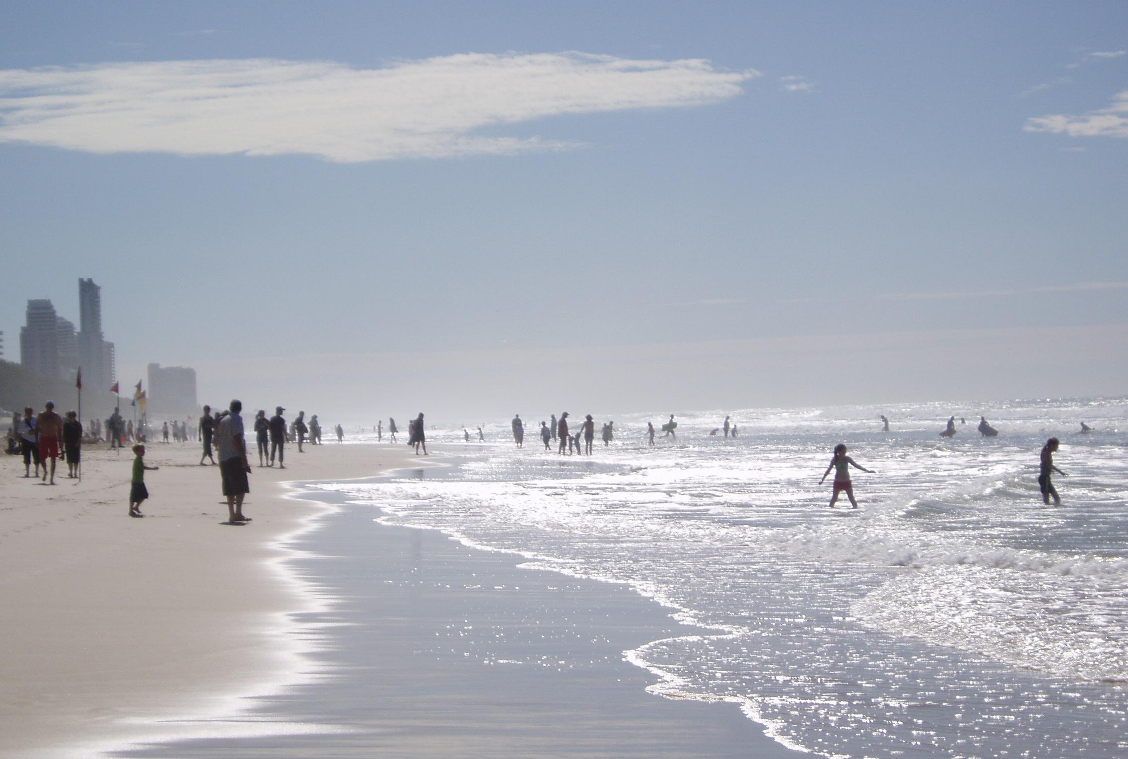 Gold Coast złote plaże