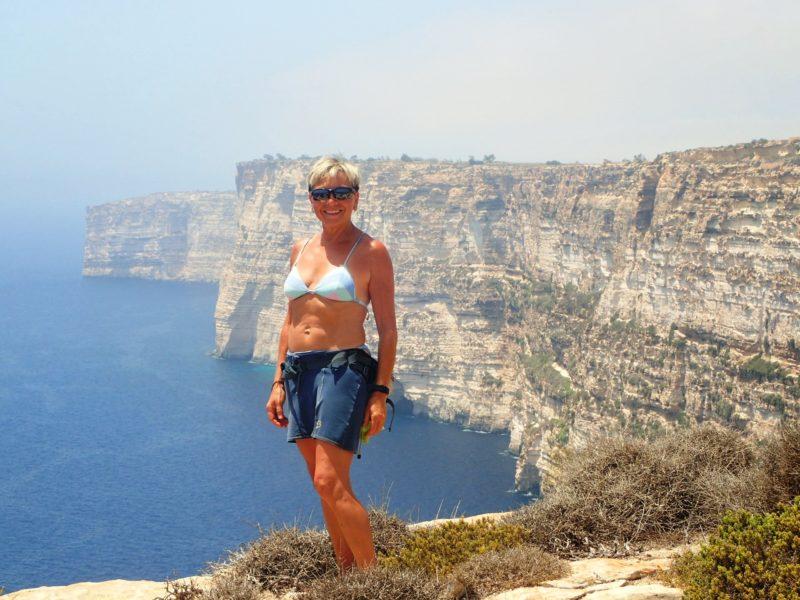Nurkowanie z Elą na Gozo